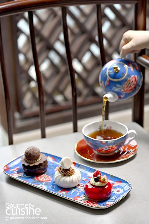 ชุดน้ำชายามบ่าย Parisian High Tea ที่ Capella Bangkok