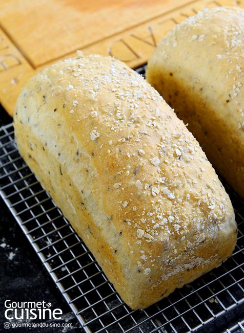ขนมปังธัญพืช (เนื้อหนัก)