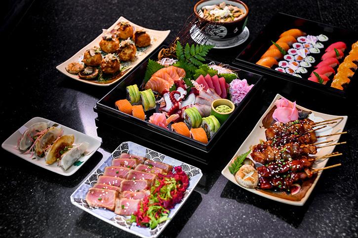 """ห้องอาหารอัพ แอนด์ อะบัฟแนะนำ """"ยะไต และ อิซากายะ"""" บุฟเฟต์มื้อค่ำวันเสาร์ในบรรยากาศแบบประเทศญี่ปุ่น"""