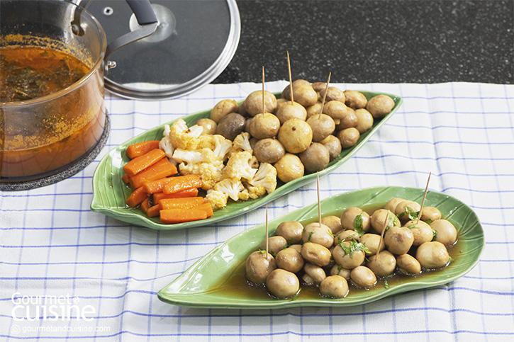 Légumes à la Grecque (