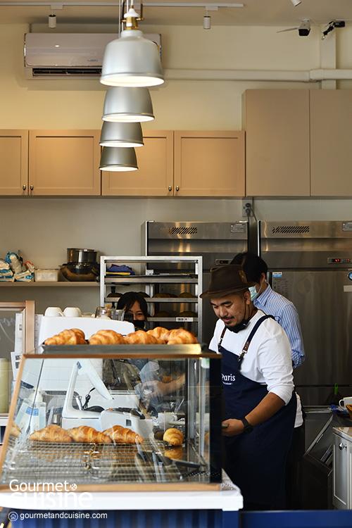 Le Paris คาเฟ่ครัวซองต์สไตล์ฝรั่งเศสแห่งใหม่ที่ Gump's Ari
