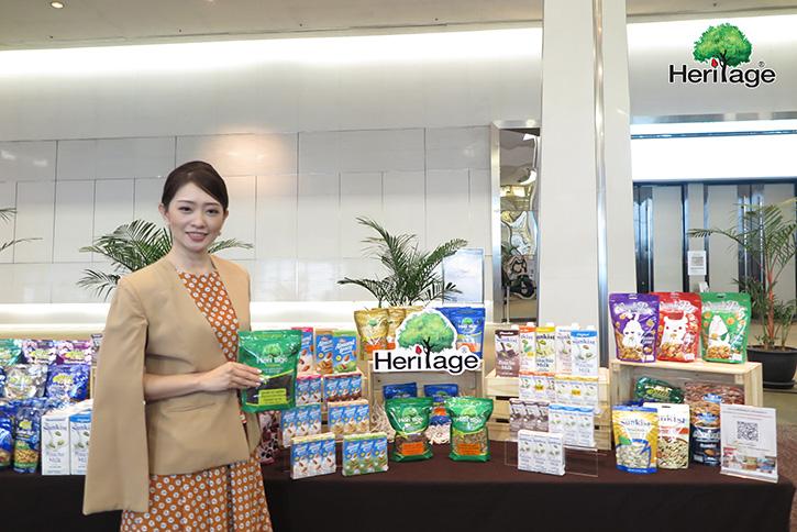 """เครือเฮอริเทจ ยกทัพผลิตภัณฑ์เพื่อสุขภาพในงานคณะภริยาทูต ครั้งที่ 54 กับแนวคิด """"Shop the World of Healthy Food"""""""