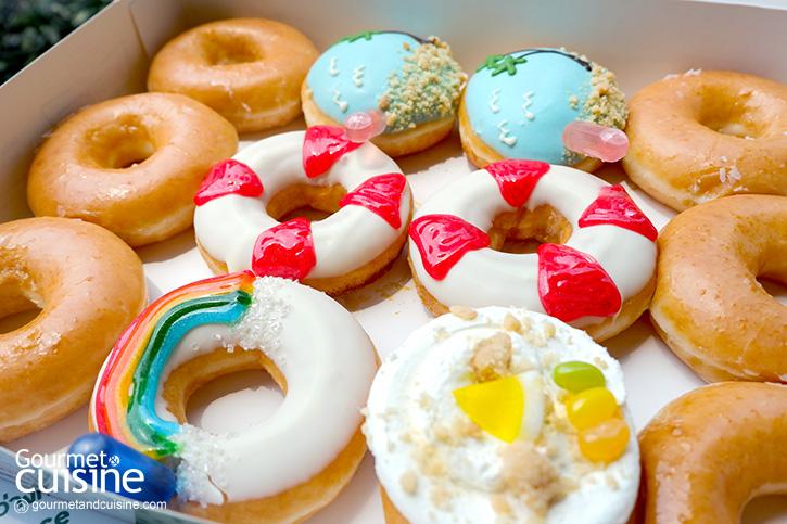อะโลฮาไปกับ ฮัลโหล ซัมเมอร์ (Hello Summer)  เมนูฤดูร้อนจาก Krispy Kreme