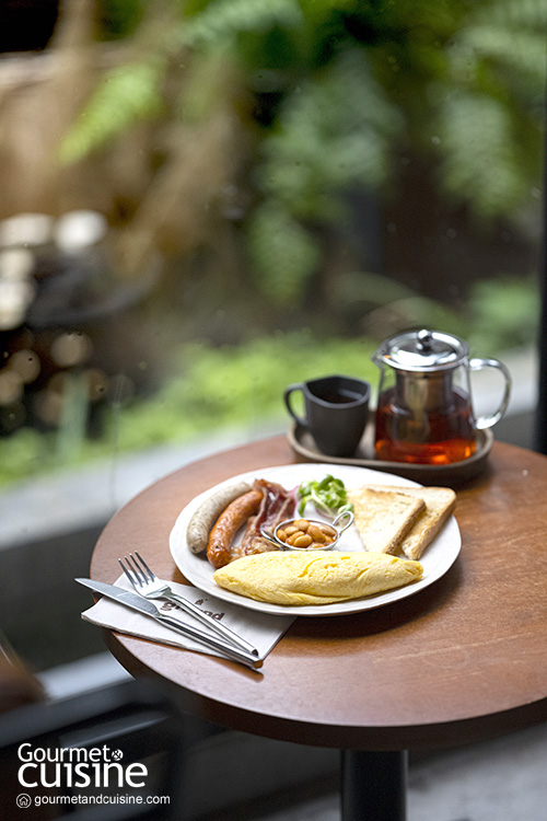 GROUND Coffee ร้านกาแฟคุณภาพดี มีมื้อเช้าเสิร์ฟตลอดวัน
