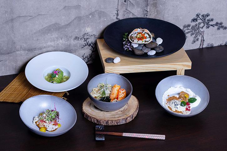 เซ็ตเมนู 5 คอร์สปูญี่ปุ่นทาราบะ ณ ห้องอาหารเท็นชิโนะ โรงแรมพูลแมน คิง เพาเวอร์ กรุงเทพ