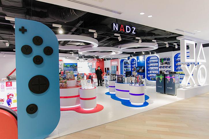 สยามดิสคัฟเวอรี่ชวนเหล่าเกมเมอร์มาค้นพบโลกแห่งจิตนาการ  กับร้าน NADZ จุดนัดพบใหม่ของคนรักเกม