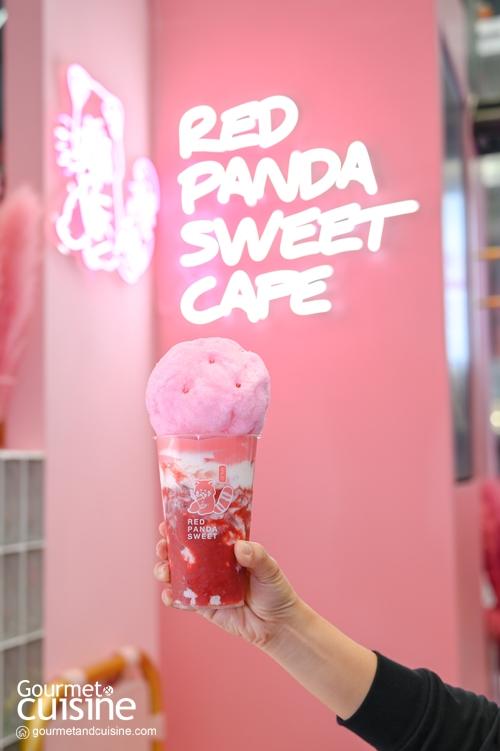 Red Panda Sweet สตรีทคาเฟ่สไตล์ญี่ปุ่น  แลนด์มาร์กใหม่ศาลาแดง