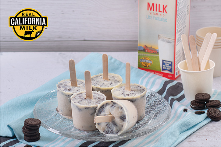 ไอศกรีมนมสดคุกกี้ช็อกโกแลต