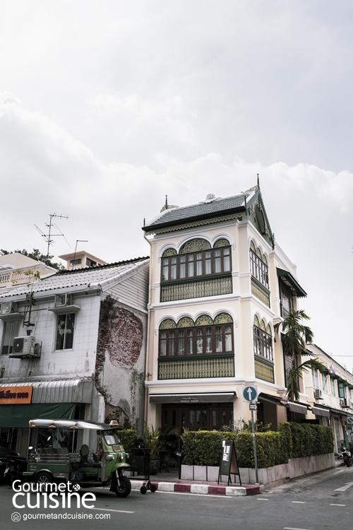 """""""The Knight House"""" เรื่องราวที่ซ่อนไว้ใน 'อาคารหญิงไทยแต่งแหม่ม' แห่งแพร่งภูธร"""