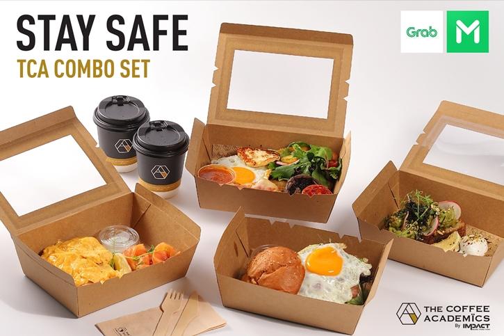 อยู่บ้านก็ฟินได้กับโปรโมชั่น Stay Safe The Coffee Academics Combo Set