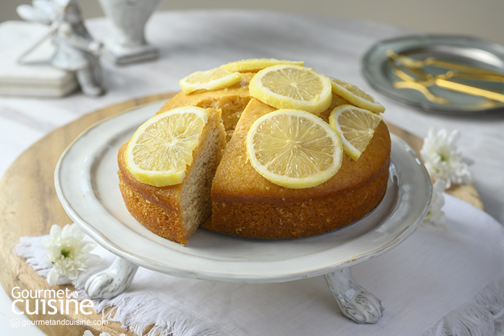 เค้กน้ำผึ้งดอกส้มและเลมอน