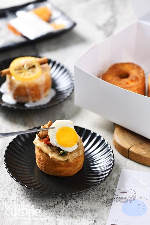 เอ็นจอยไปกับ DIY Homemade Cronut (โครนัท) เมนูใหม่จาก Tanwa the Food Project