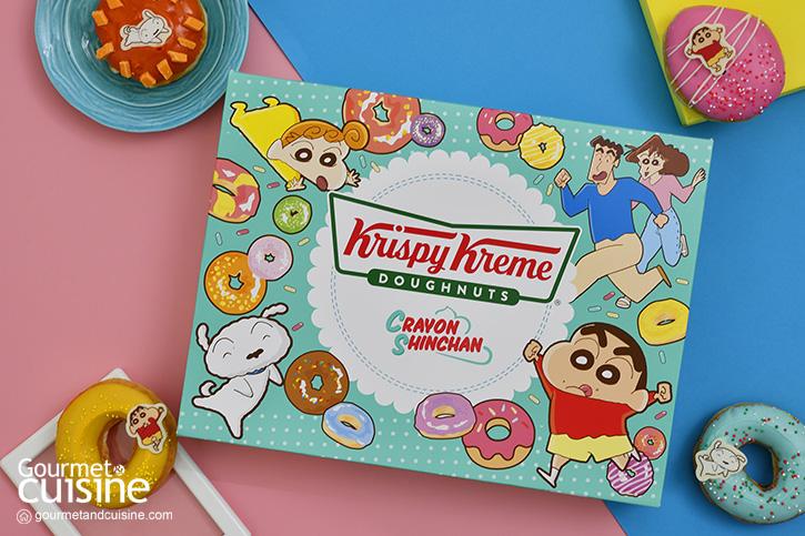 """""""คริสปี้ ครีม X เครยอน ชินจัง"""" โดนัทแสนน่ารักน่ากินใหม่จาก """"Krispy Kreme"""""""