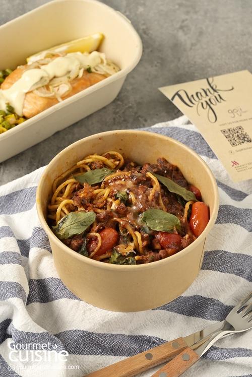 สั่งอาหารนานาชาติ เมนูเดลิเวอรีจาก Goji Kitchen & Bar @โรงแรม แบงค็อก แมริออท มาร์คีส์ ควีนส์ปาร์ค