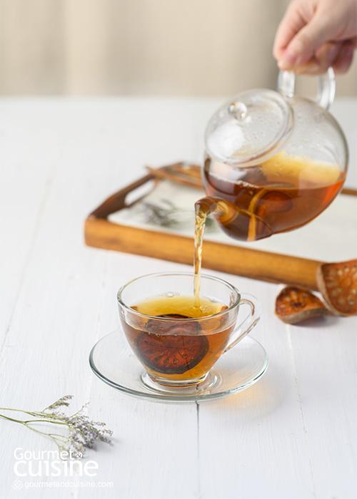 ชาร้อนทำง่าย กับ ชามะตูมเอิร์ลเกรย์และไทม์