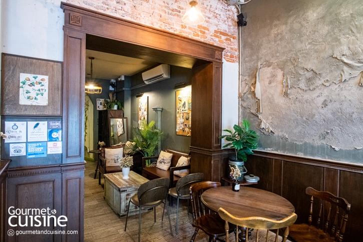 Petit Peyton Traveloque Cafe (พิถีพิถัน คาเฟ่) คาเฟ่ย้อนยุคบน ถ.มหาไชย ย่านเมืองเก่ากรุงเทพ