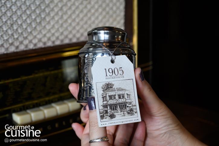 เปิดประตูย้อนเวลาที่ 1905 Heritage Corner ลักซูรี่เกสต์เฮาส์และโรงน้ำชาเก่าแห่งพระนคร