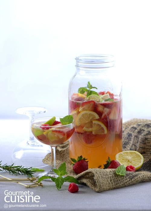 Honey Red Fruits Sangria