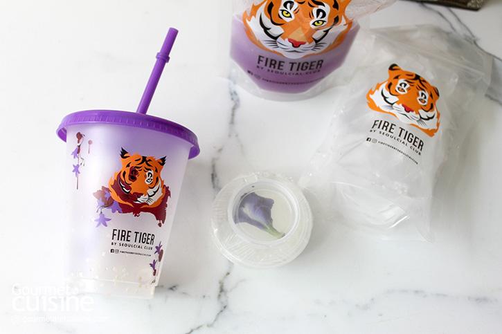 """""""เสือพ่นไฟคืนชีพ"""" เครื่องดื่มใหม่น่าจิบจาก Fire Tiger by Seoulcial Club X Netflix"""