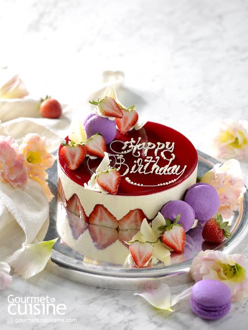 เค้กสตรอว์เบอร์รี (Fraisier Cake)