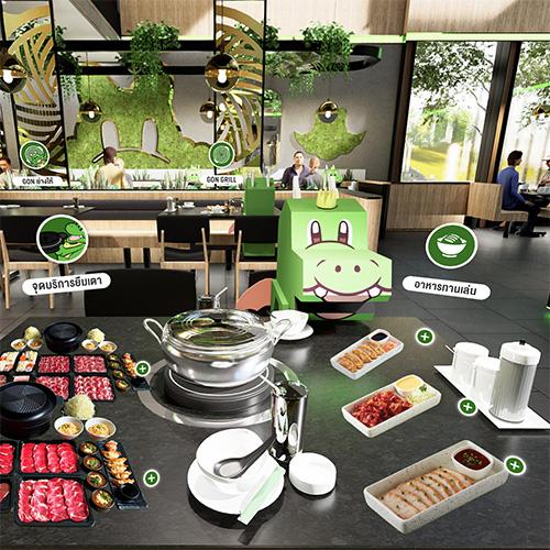 บาร์บีคิว พลาซ่า เปิดสาขาใหม่บน V-Avenue เสิร์ฟอาหารแบบ Virtual Tour