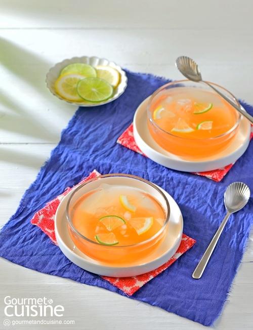 เจลลีไต้หวันชาน้ำผึ้งมะนาว