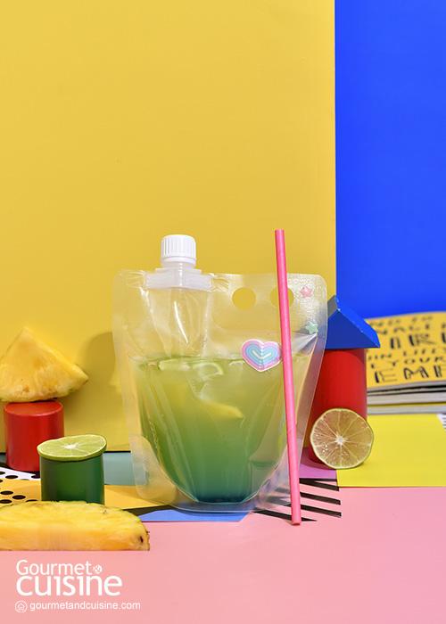 เปิดบาร์ที่บ้านกับสูตรเครื่องดื่มง่ายๆ ค็อกเทลสีฟ้าสวย