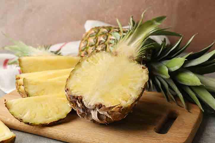 9 ประโยชน์ของสับปะรด ผลไม้ทรอปิคอล รสเปรี้ยวอมหวาน