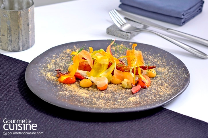 Carrot with Fennel and Pomelo