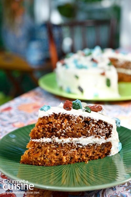 เค้กแครอต (Carrot Cake)