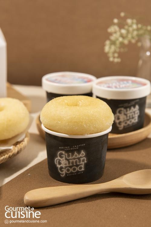 หวานอร่อยคูณ 2 กับเมนูสุดพิเศษ จากการจับมือกันของ โดนัท Loaf – Lay และไอศกรีม Guss Damn Good