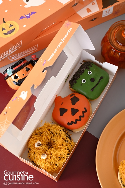 """""""Krispy Kreme"""" ต้อนรับเทศกาลฮาโลวีนด้วยเหล่าโดนัทปีศาจสุดน่ารักน่ากิน"""
