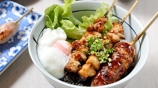 ติดใจมื้อเที่ยงแสนอร่อย @Nantei Yakitori Bkk ร้านยากิโทริสไตล์โมเดิร์ลย่านสีลม
