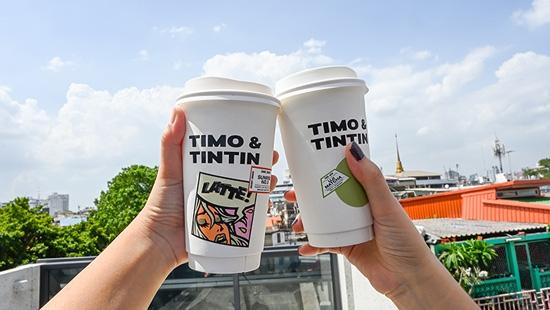 Timo & Tintin คาเฟ่ฮิปในพื้นที่ศิลปะแห่งตลาดน้อย